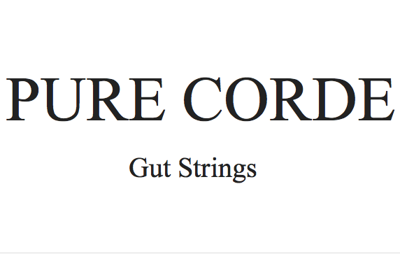 pure corde gut strings