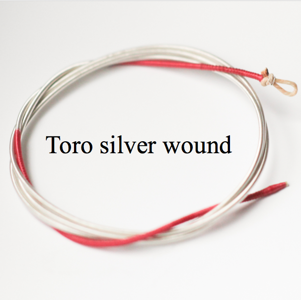 Toro strings, silver wound, Pure Corde