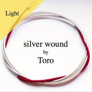 Bass viol D Toro silver wound / light