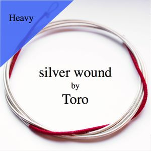 Bass Gambe D Toro silver wound heavy