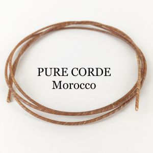 Pure Corde high twist Marokko 120cm,   Ø 1,30mm