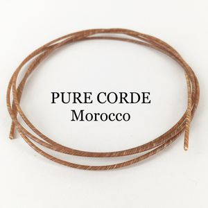 Pure Corde high twist Marokko 120cm,   Ø 2,08mm